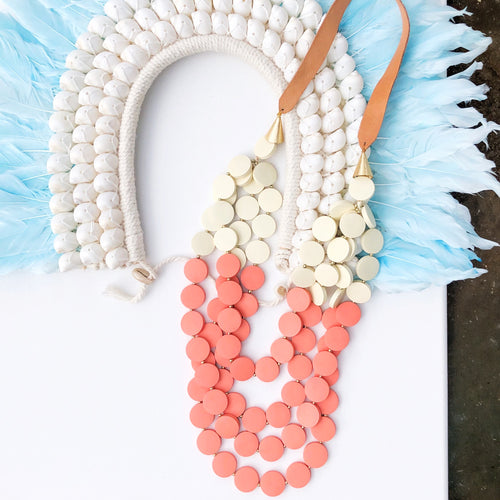 Coral Layers Necklace