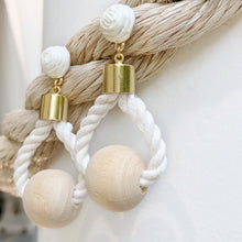 Nautical rope Earring