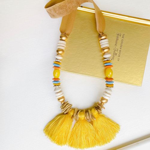 Sunshine Fringe Necklace