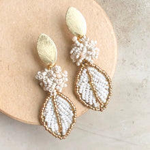 Dove White Earring