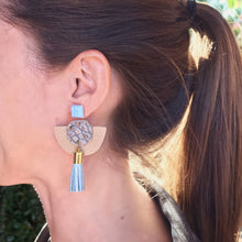 Chelsea Leather Earring