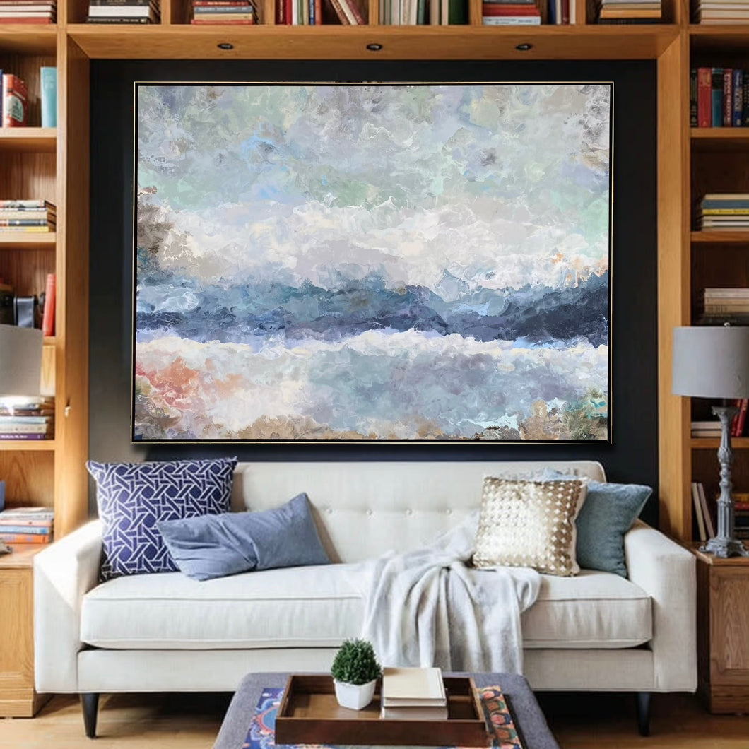 The Waters Edge original fine art painting