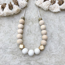 Natural Suede one Necklace