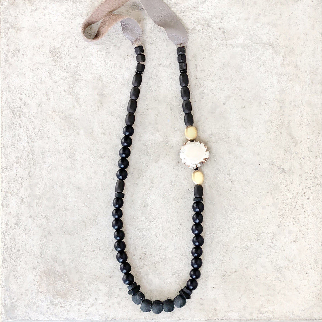 Antler Burr Necklace