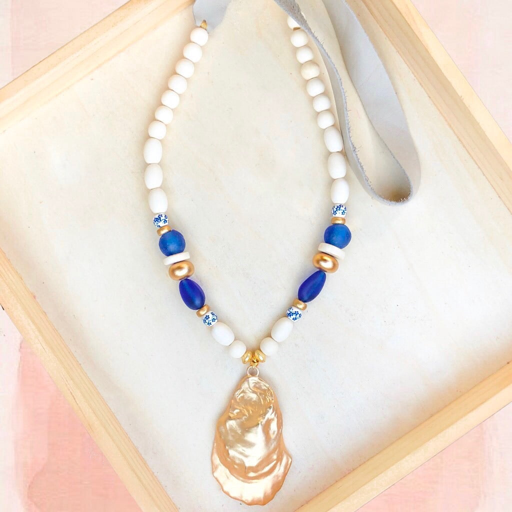Margret Oyster Necklace