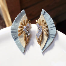 Ellie Powder Blue Earring