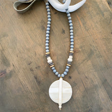 Ivory Cashmere Necklace