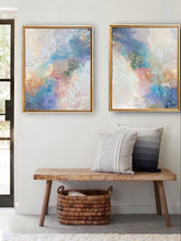I Wish abstract fine art painting pair