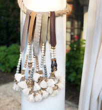 Fringe Khaki Necklace
