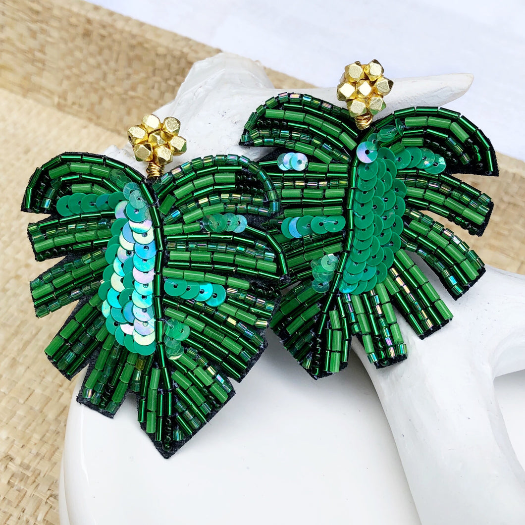Palm Island Earring