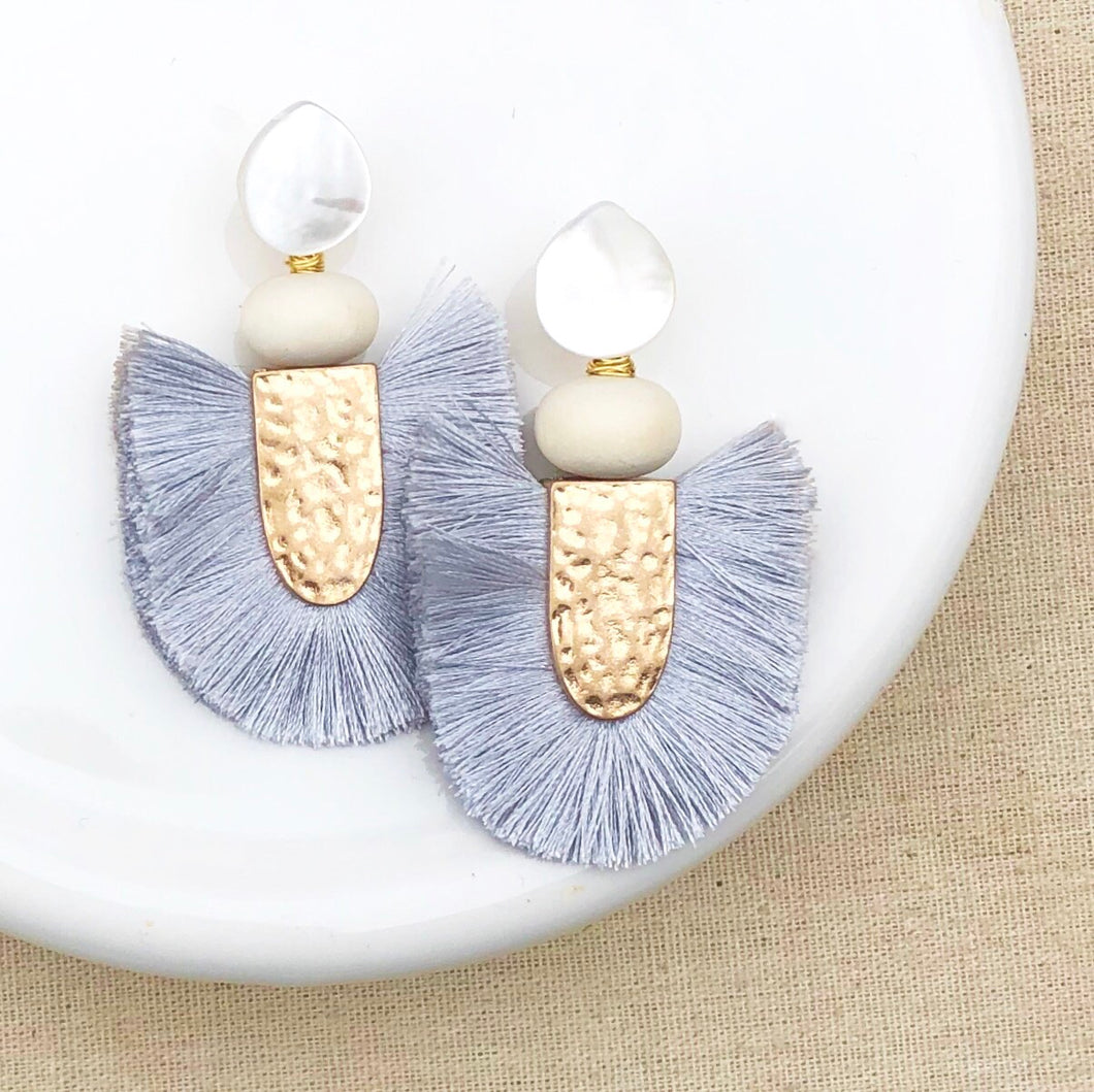 Rosemary grey Earring
