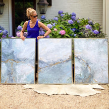 Set of 3 abstract paintings