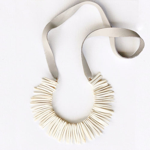 Bohem White Necklace
