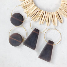 Ava Coffee earring