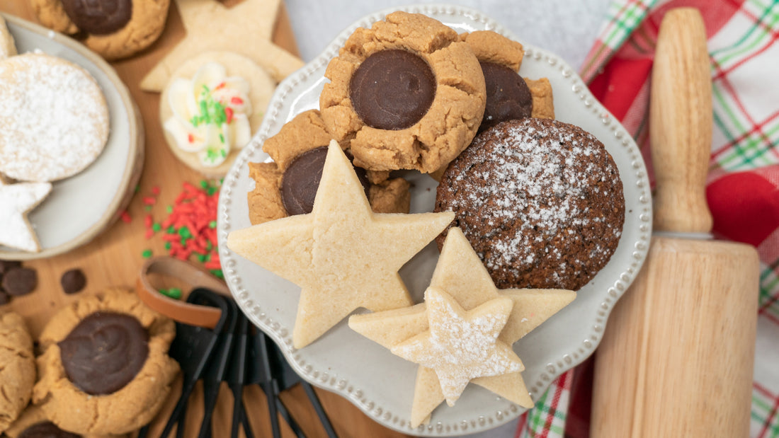 The Best Sugar Free Holiday Cookies