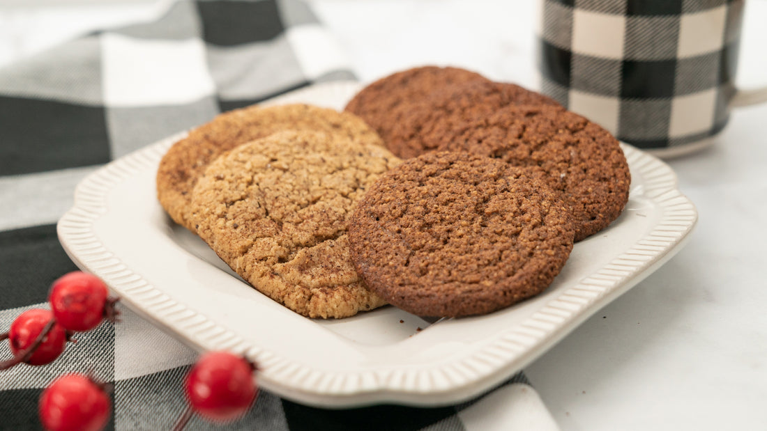 "Ginger ""Molasses"" Cookies"