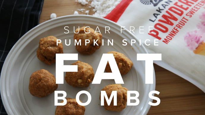 Pumpkin Spice Fat Bombs