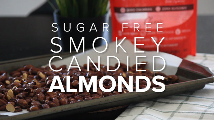 Sugar Free Caramelized Almonds