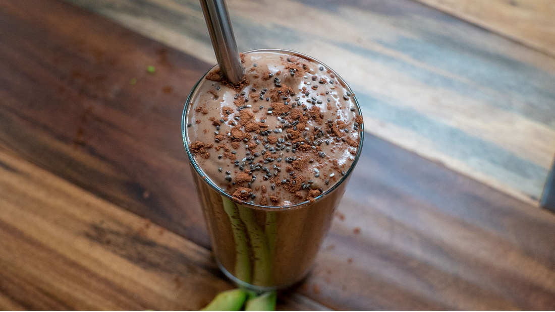 Keto Chocolate Almond Butter Smoothie
