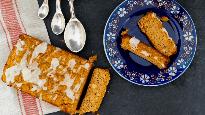 Masha Hunsaker's Ready For All Things, Low-Carb Pumpkin Bread