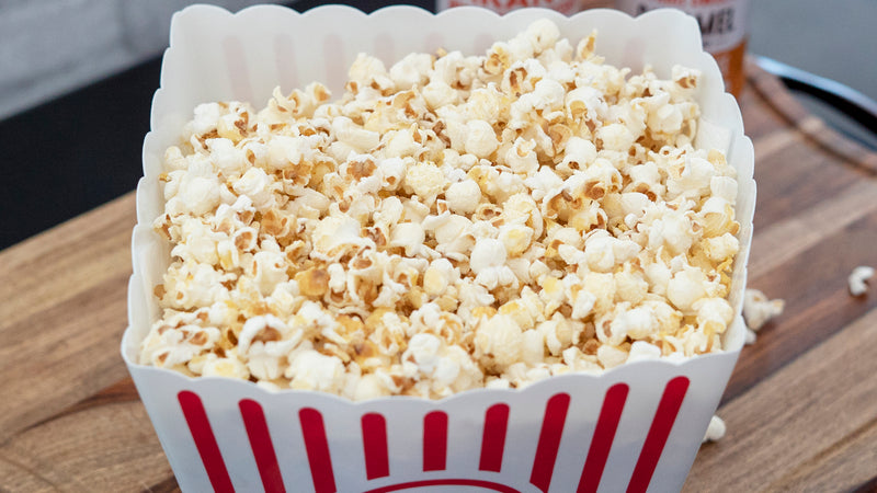 Sugar-Free Caramelized Popcorn