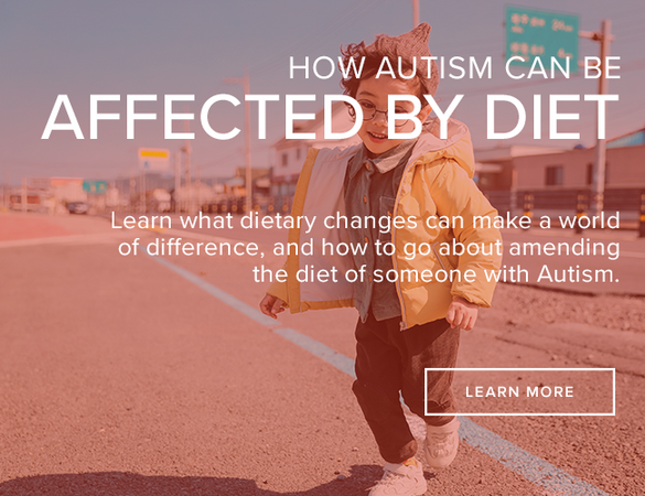 Diet changes to improve autism symptoms
