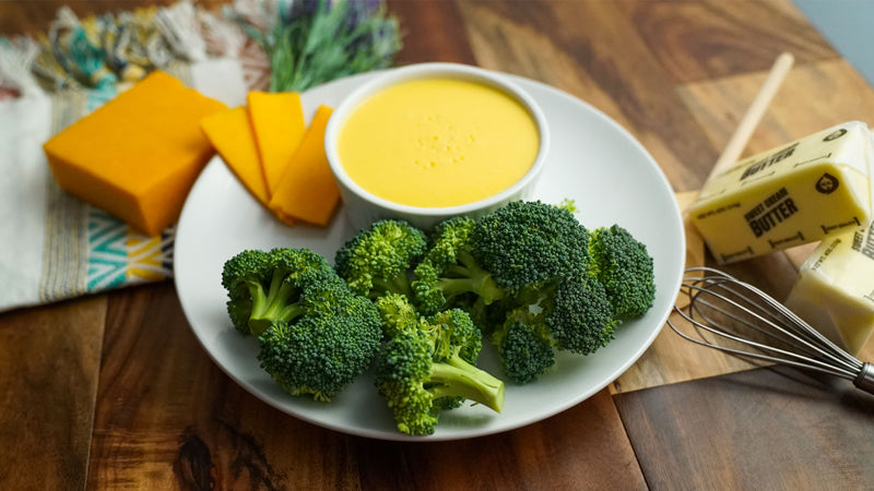 Creamy Cheddar Cheese Sauce