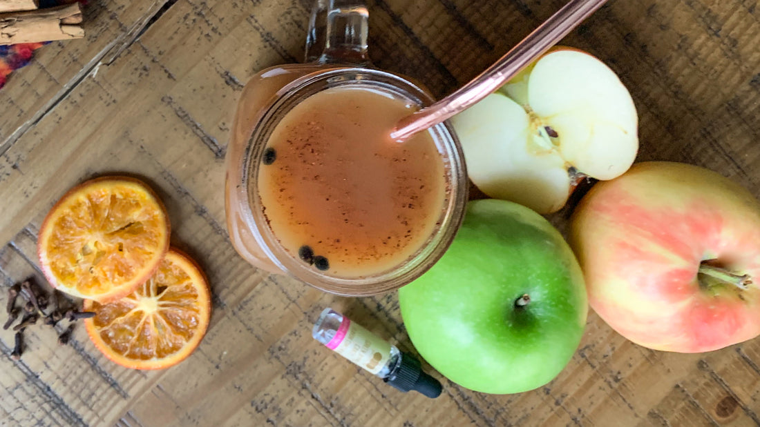Sugar-free Spiked Mulled Apple Cider
