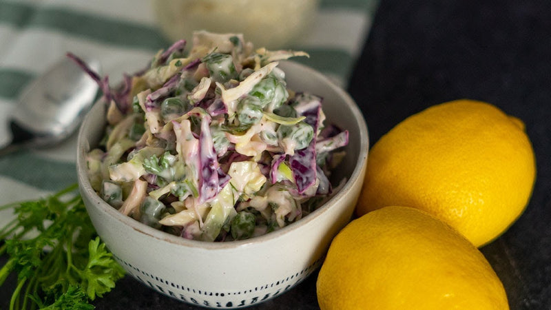 Low Carb Creamy Coleslaw