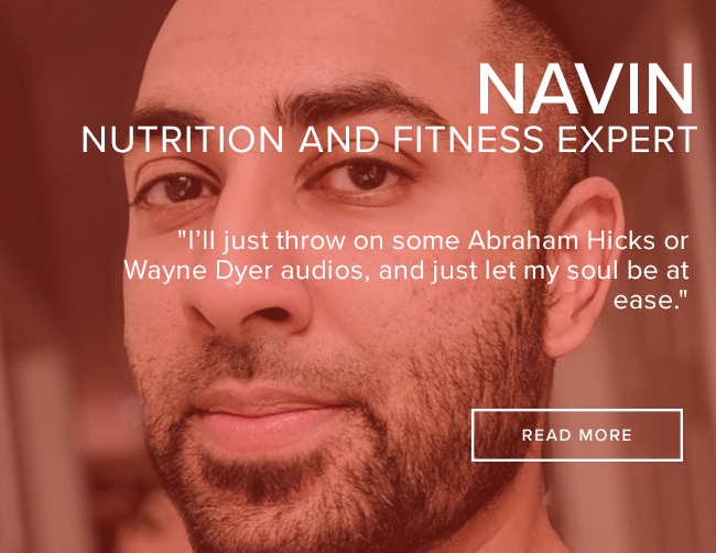 Navin: How lifestyle and meditation helped him find mental health.