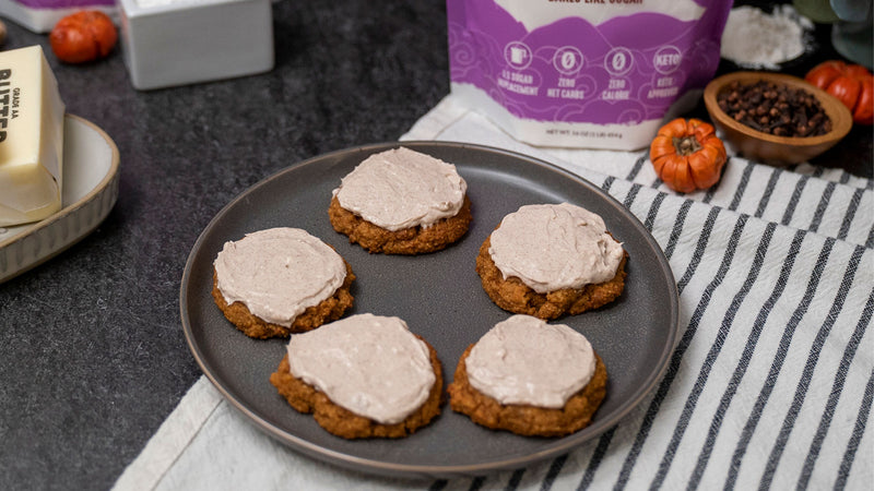 Sugar-Free Pumpkin Cookies