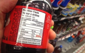 Food Labels: If Products had % Daily Values for Sugar