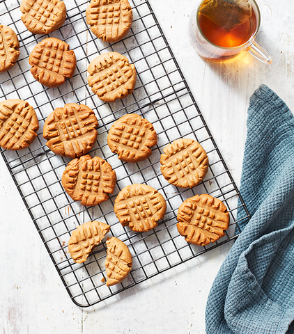 3 Ingredient Peanut Butter Cookies by Jennifer Marie Garza