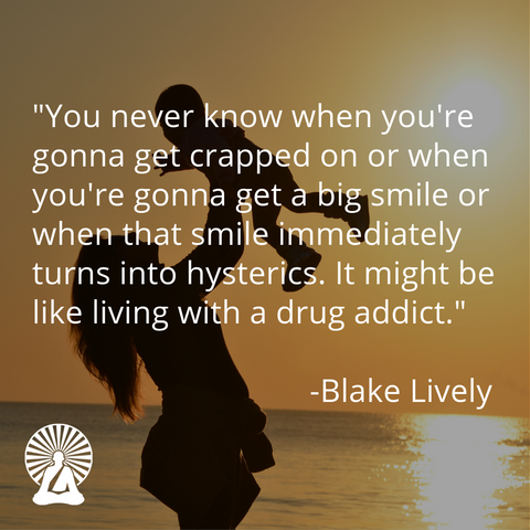 Blake Lively funny motherhood quote