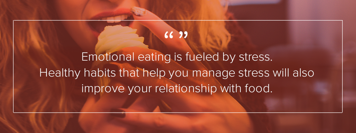 emotional eating stress eating healthy habits