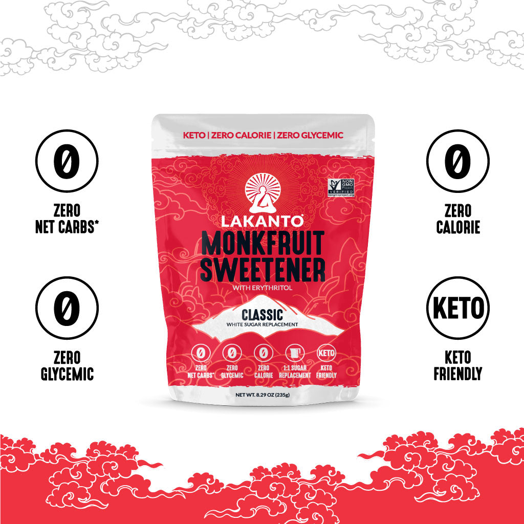 Classic Monkfruit 1:1 Sugar Substitute