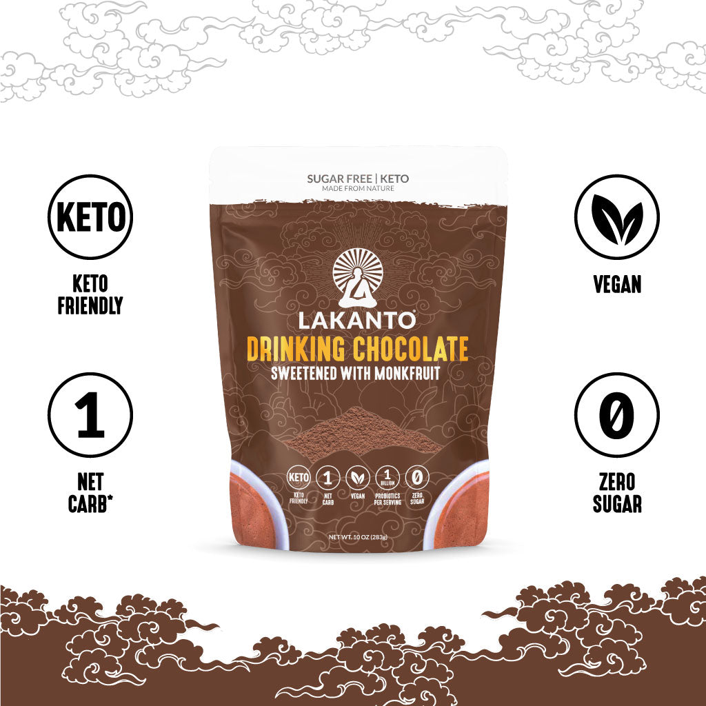 Sugar-Free Drinking Chocolate with Probiotics