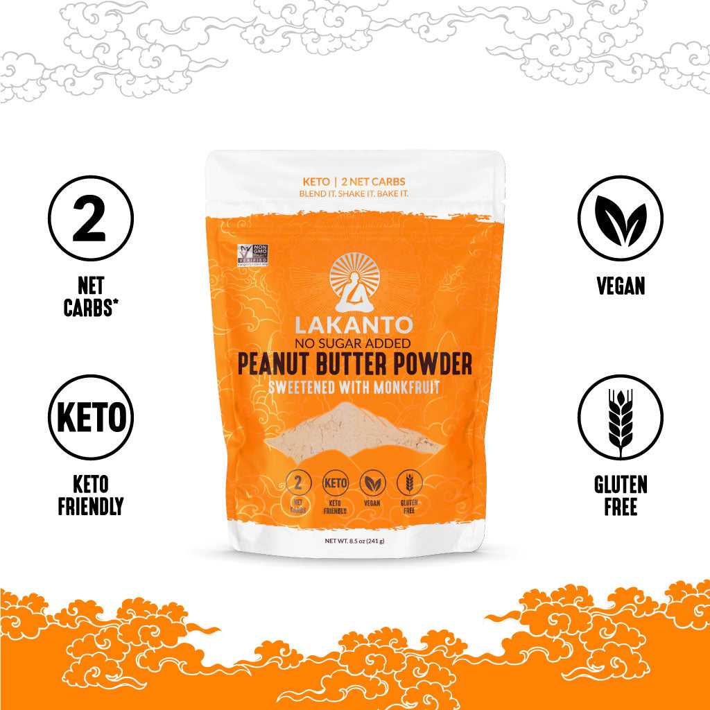 Peanut Butter Powder - 2 Net Carbs, Keto