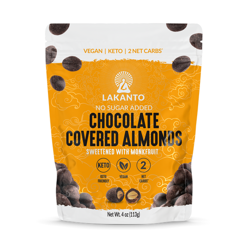 Chocolate Covered Almonds -No Sugar Added, Keto