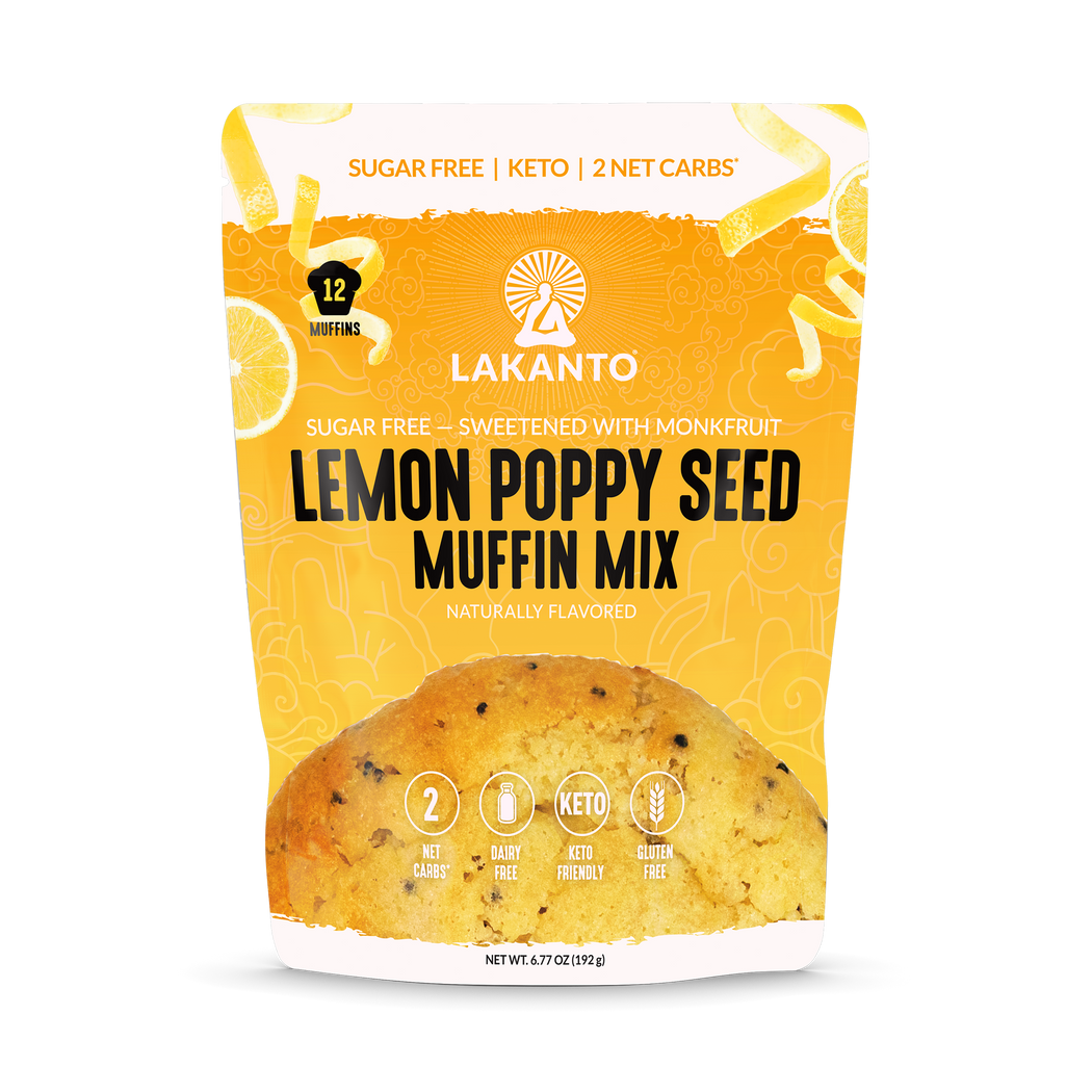 Lemon Poppy Seed Muffin Mix (Preorder)