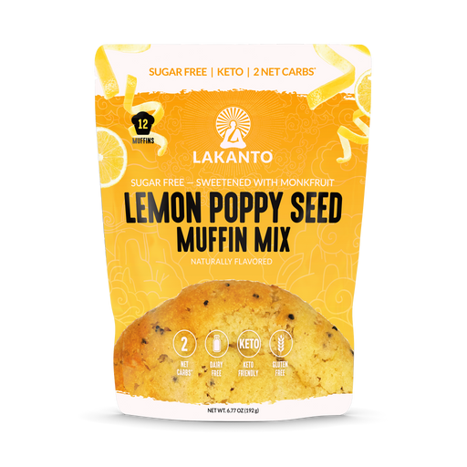 Lemon Poppy Seed Muffin Mix