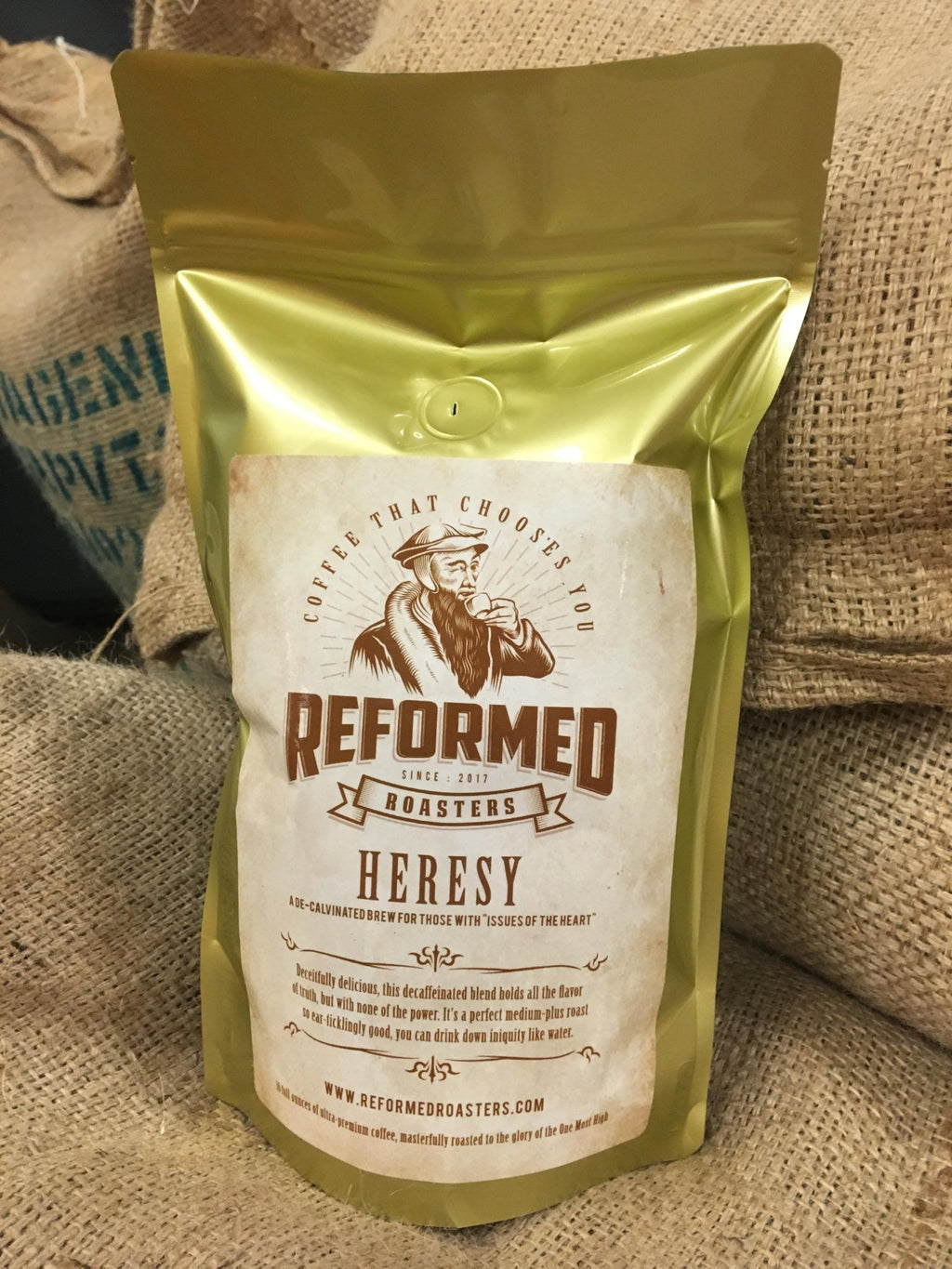 coffee christian coffee reformed coffee Heresy (1lb - Whole Bean) Coffee  - Reformed Roasters