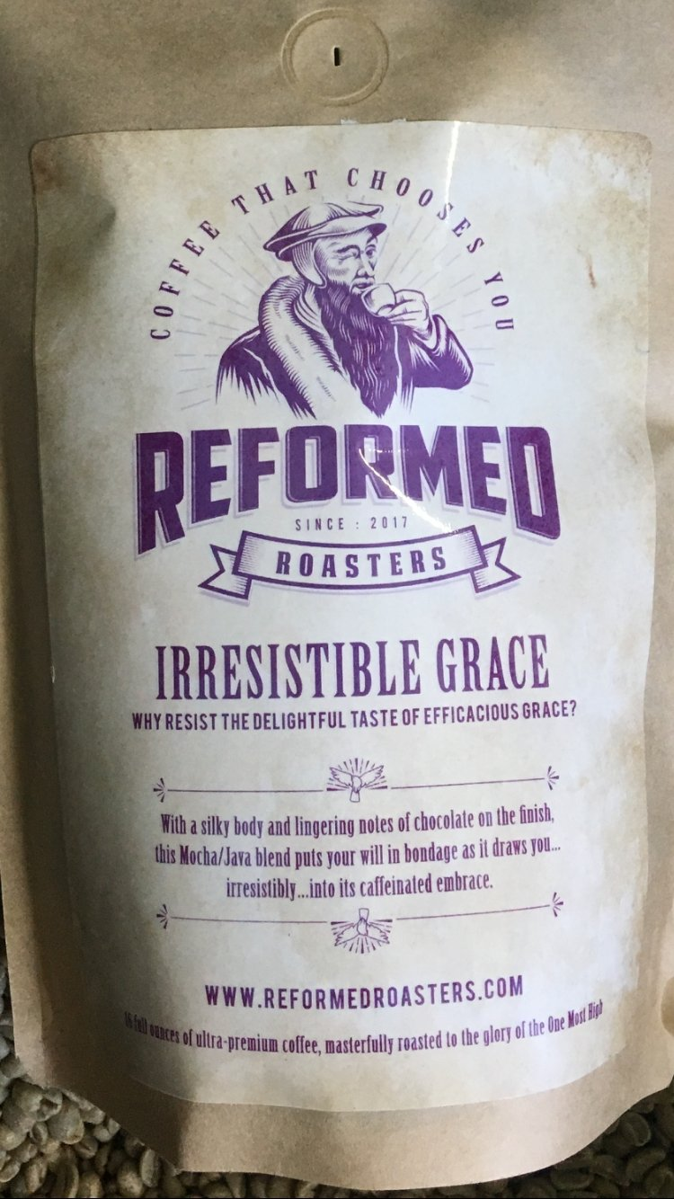 coffee christian coffee reformed coffee Irresistible Grace (1lb - Whole Bean) Coffee  - Reformed Roasters