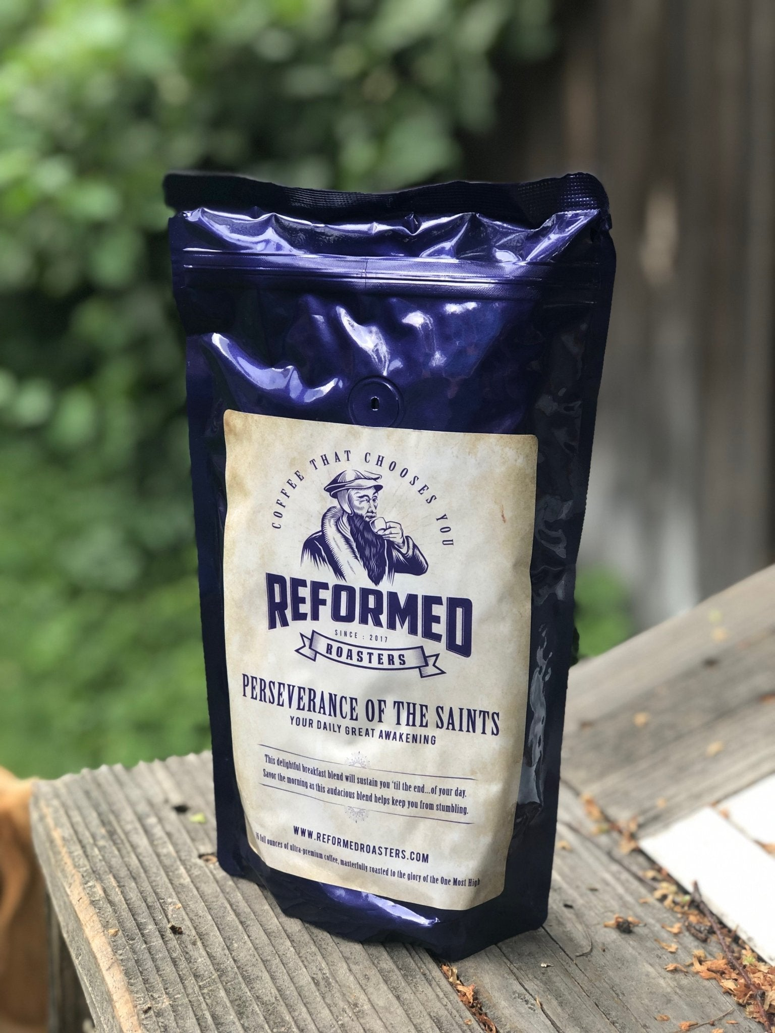 coffee christian coffee reformed coffee Perseverance of the Saints (1lb - Whole Bean) Coffee  - Reformed Roasters