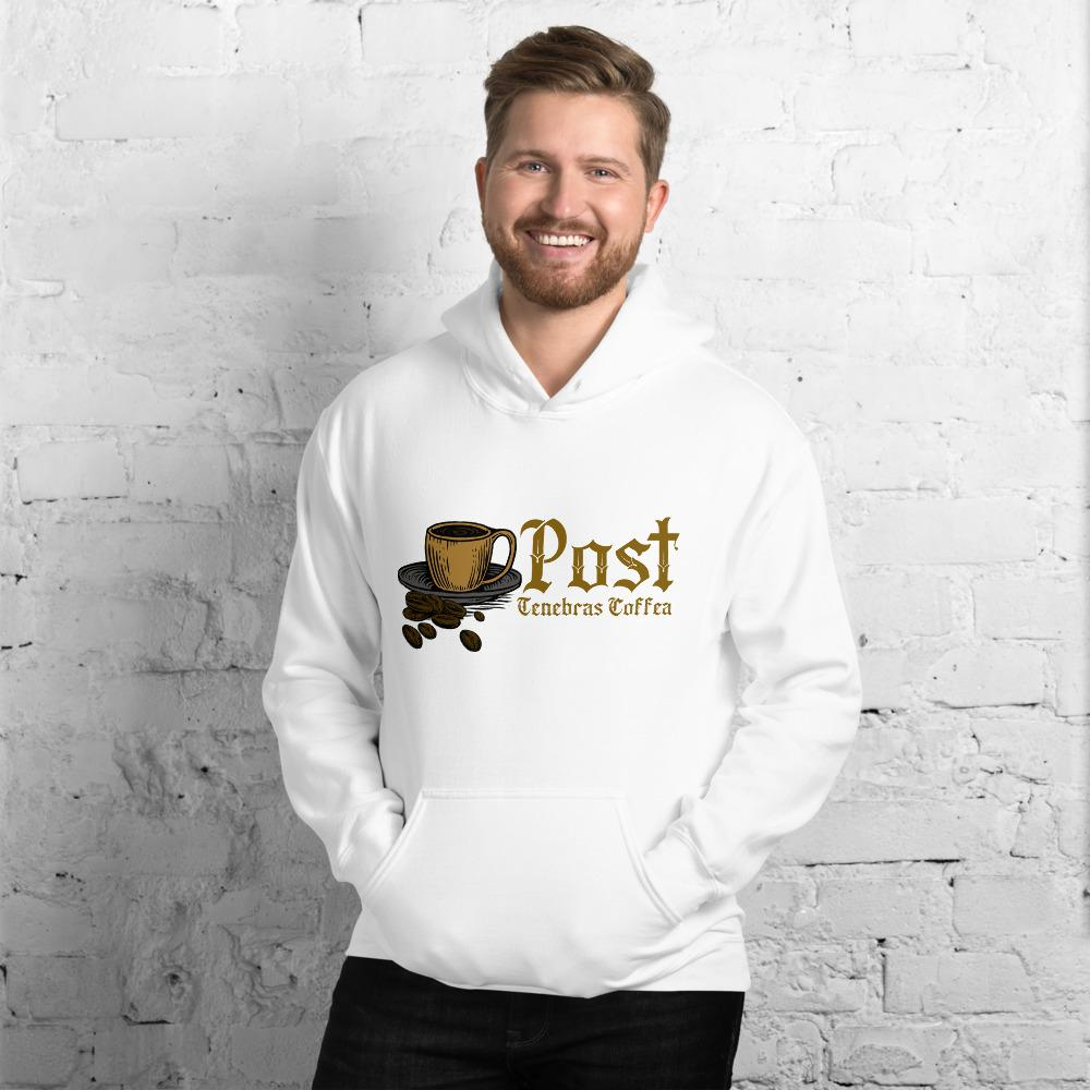 Post Tenebras Coffea Hoodie - Reformed Roasters - #reformed# - #christian_coffee# - #coffee#