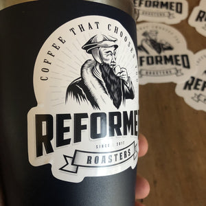 Reformed Roasters Logo - Reformed Roasters - #reformed# - #christian_coffee# - #coffee#