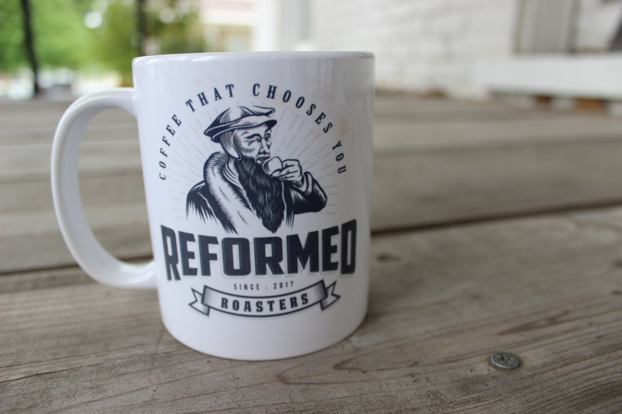 Reformed Roasters Mug (11oz) - Reformed Roasters - #reformed# - #christian_coffee# - #coffee#