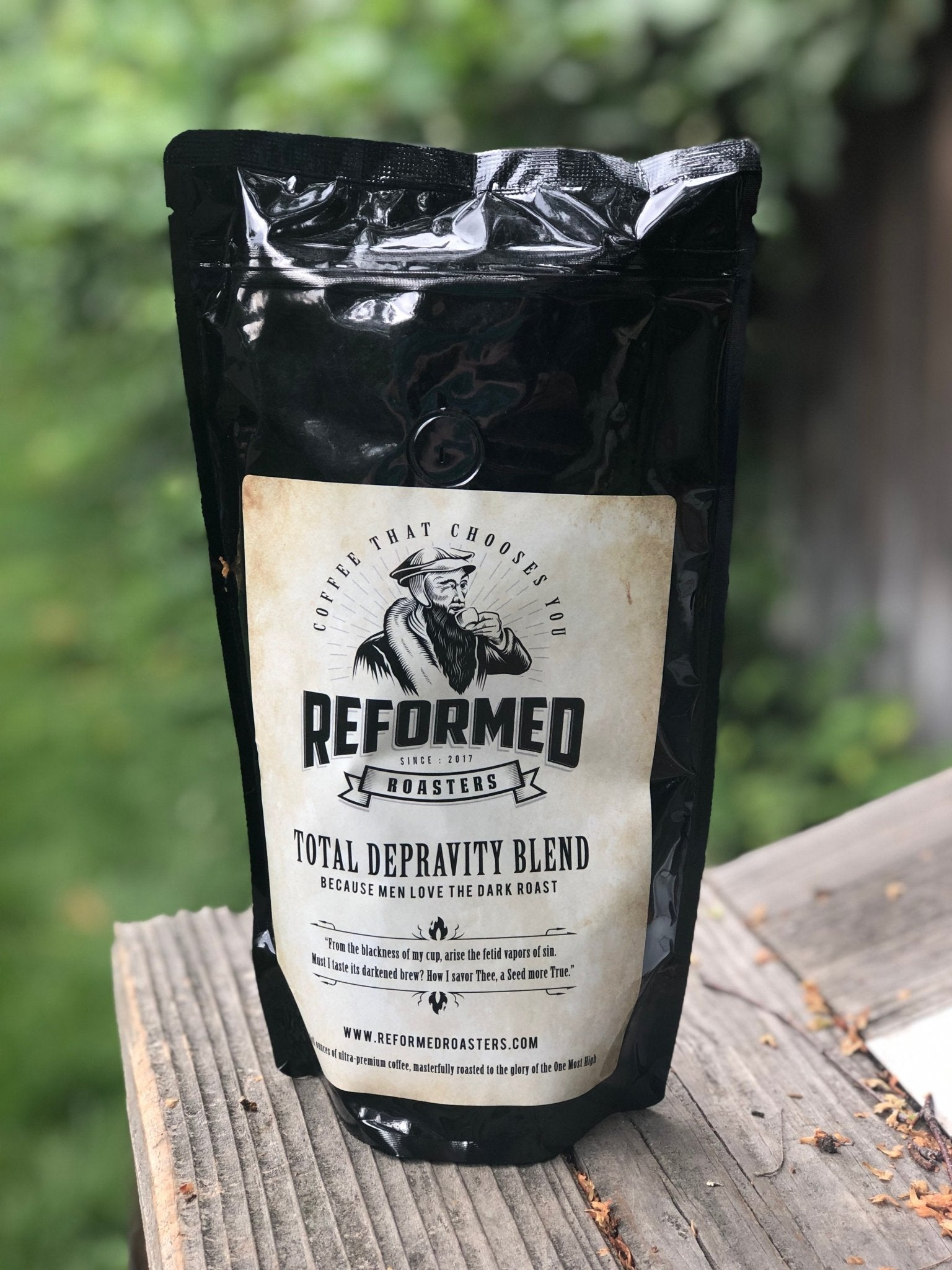 coffee christian coffee reformed coffee Total Depravity Blend (1lb - Whole Bean) Coffee  - Reformed Roasters
