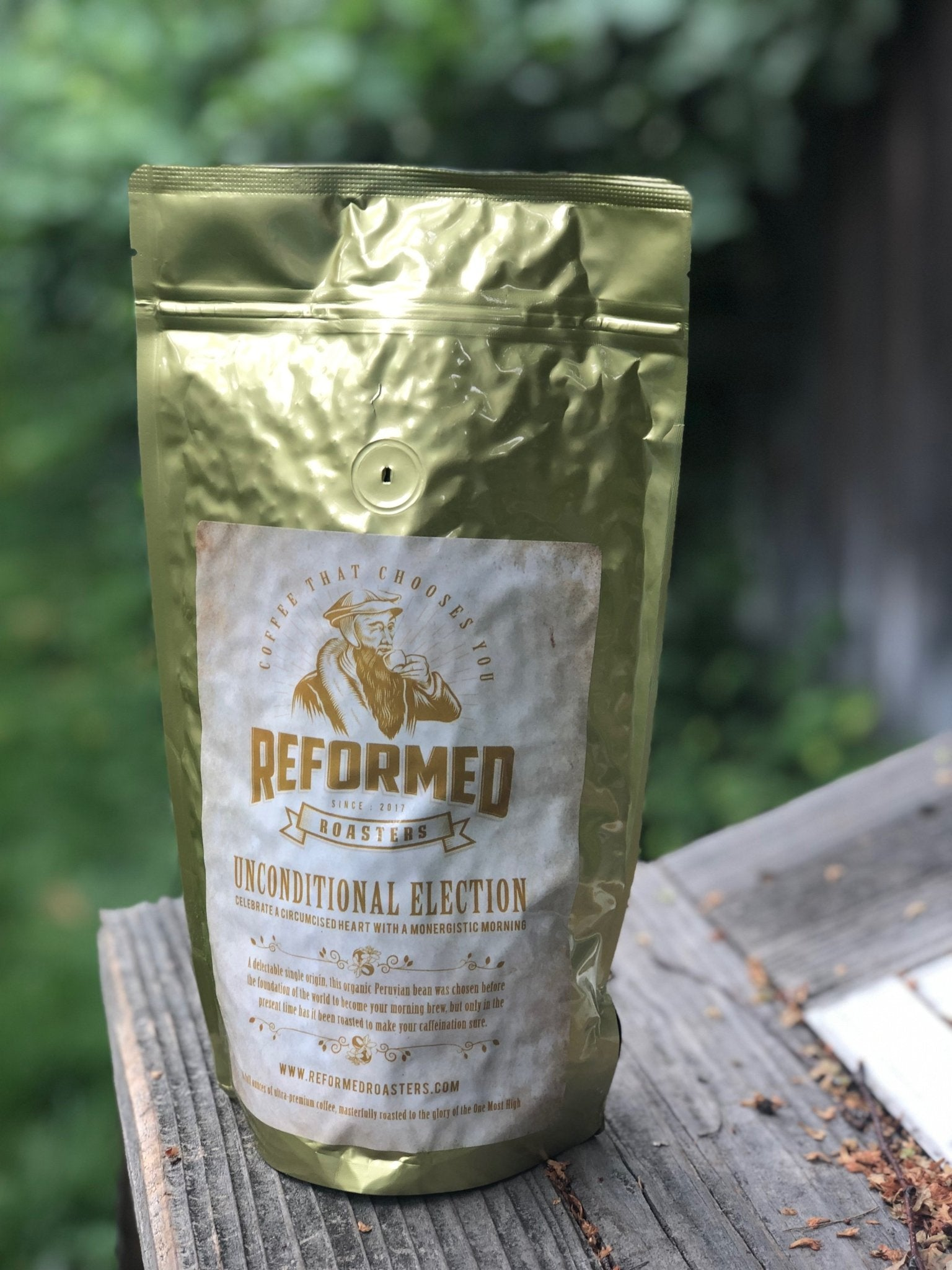 coffee christian coffee reformed coffee Unconditional Election (1lb - Whole Bean) Coffee  - Reformed Roasters