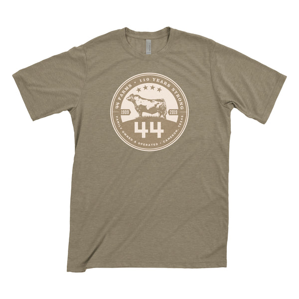 44 Farms 110 Year T-Shirt (Green)